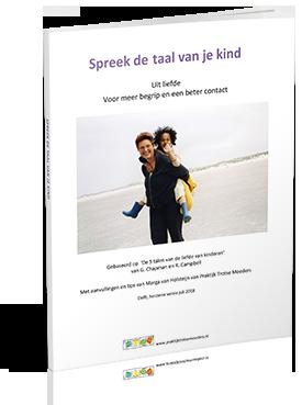 Spreek de taal van je kind e-book omslag